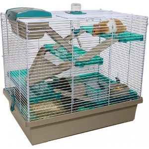 Rosewood PICO XL hamster cage with multiple platforms for Syrian and some dwarf hamsters